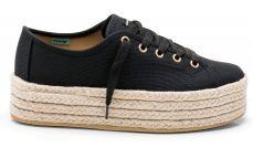 Sneaker Plataforma Negra