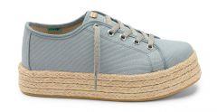 Sneaker Plataforma GRis